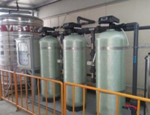 Hệ lọc khử Sắt, Mangan 4000L/h cho nhà máy   Đông Anh giai đoạn 2