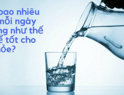 Lượng nước chúng ta dùng trong 1 ngày.